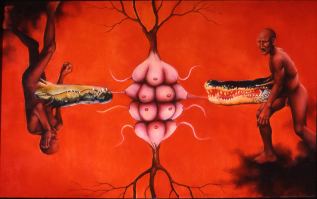 Tree of Life oil on canvas